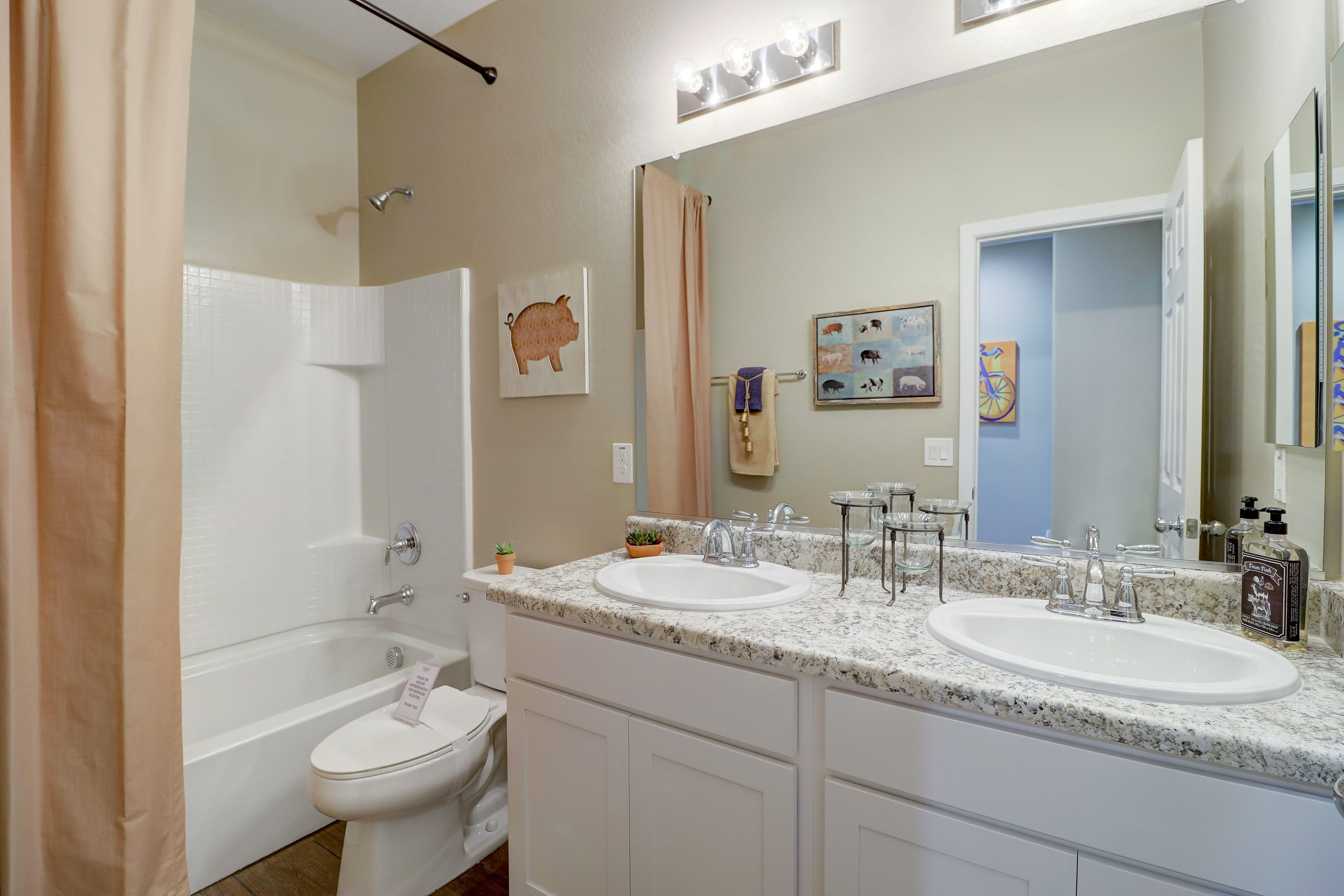 Bathroom featured in the Sabino W/ 8' Double Gate By Landsea Homes in Phoenix-Mesa, AZ