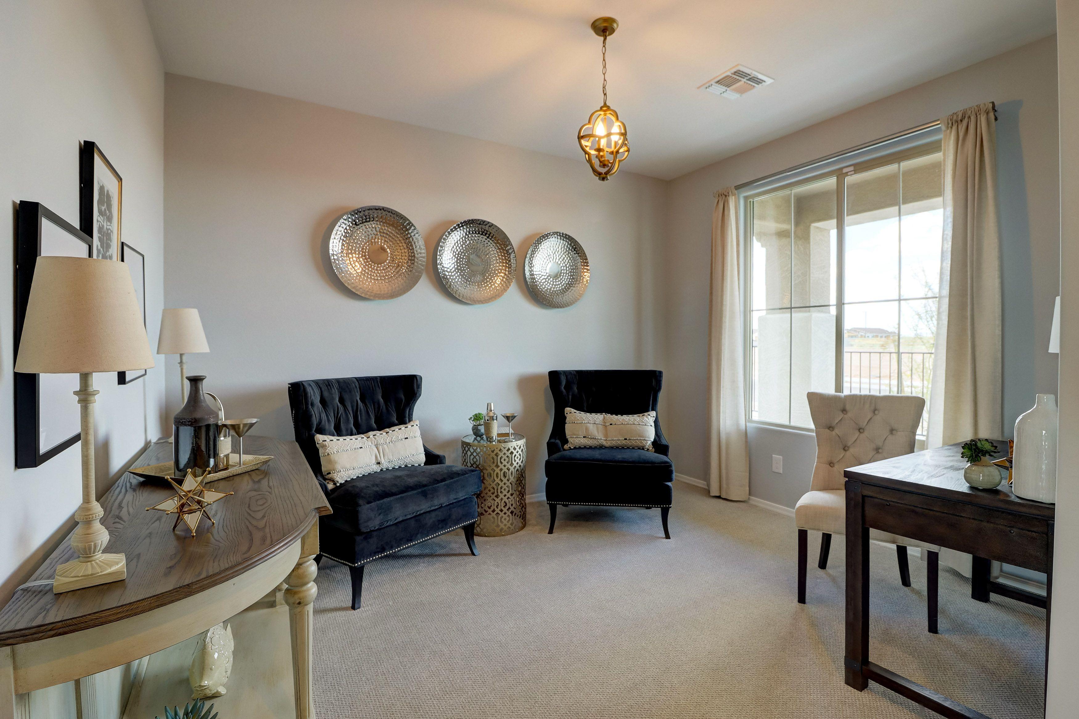 Living Area featured in the Oak Creek W/ 8' Double Gate By Landsea Homes in Phoenix-Mesa, AZ