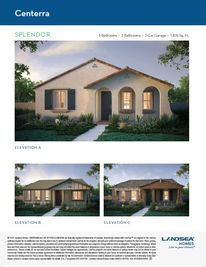 Splendor - Centerra: Goodyear, Arizona - Landsea Homes