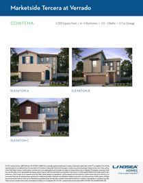 Contena - Marketside Tercera at Verrado: Buckeye, Arizona - Landsea Homes