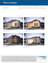 Azote - Riata at Alamar: Avondale, Arizona - Landsea Homes