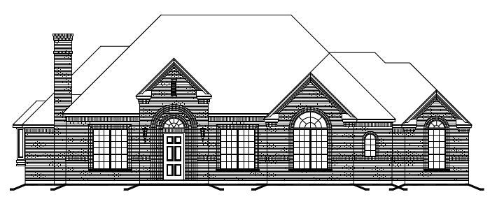 Exterior featured in The Coventry By Newport Homebuilders in Dallas, TX