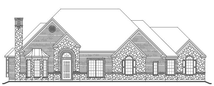 Exterior featured in The Wyndham By Newport Homebuilders in Dallas, TX