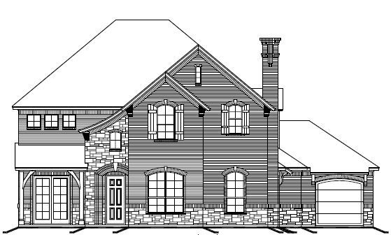Exterior featured in The Pinehurst By Newport Homebuilders in Dallas, TX