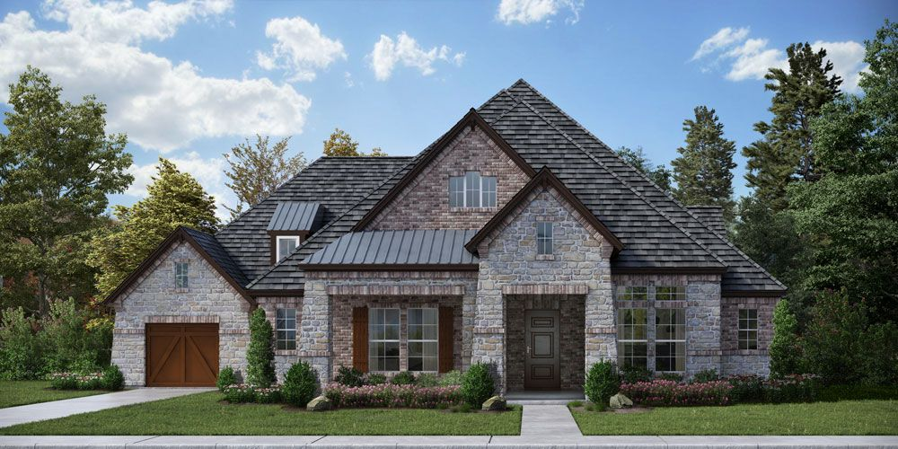 Exterior featured in the Concept 3709 By Newport Homebuilders in Dallas, TX