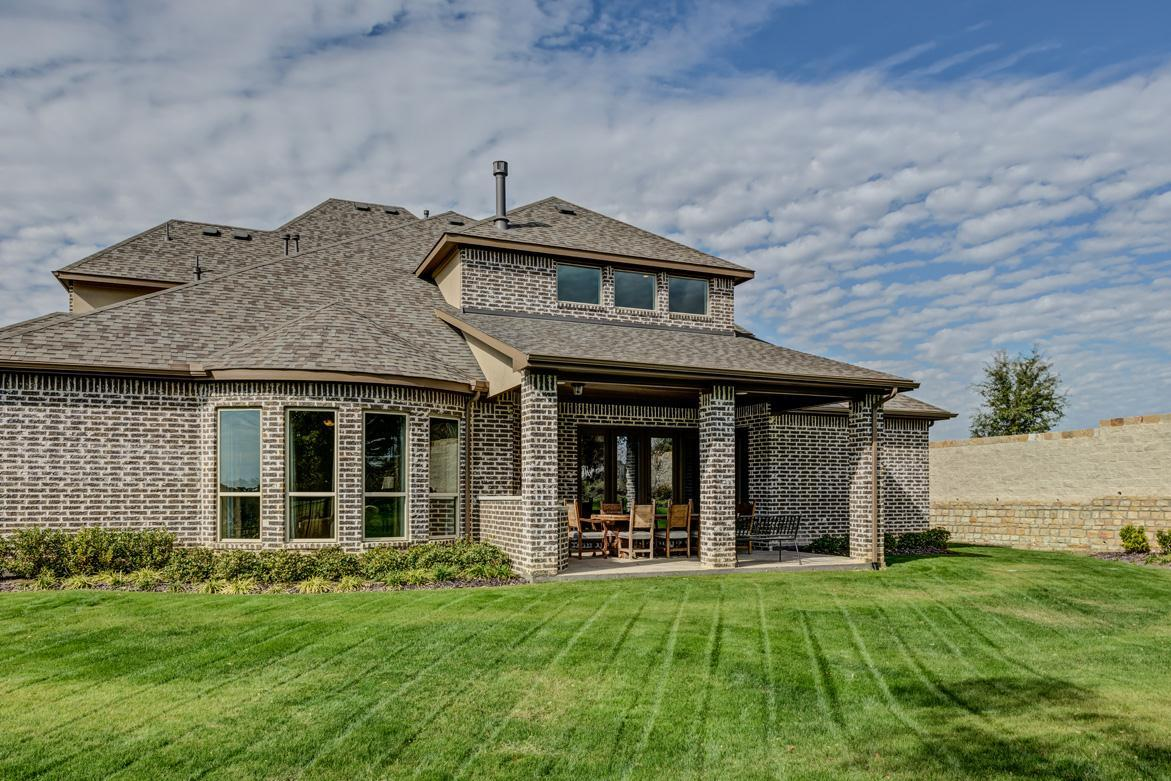 Exterior featured in the Concept 5051 By Newport Homebuilders in Dallas, TX