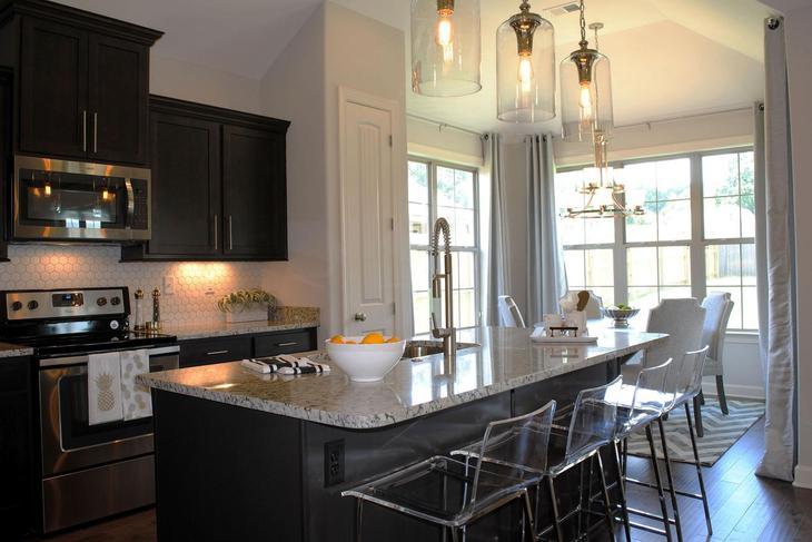 Presley Floor Plan:Kitchen + Dining Room
