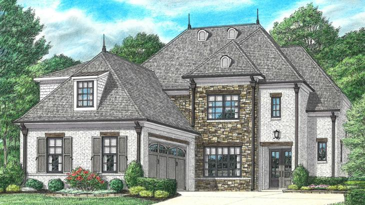 McLean Elevation A