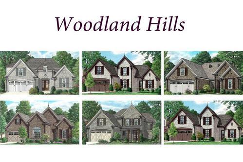 Woodland Hills by Regency Homebuilders in Memphis Tennessee