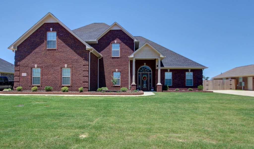 Exterior featured in the Forestdale D[1] By Legacy Premier Homes  in Huntsville, AL