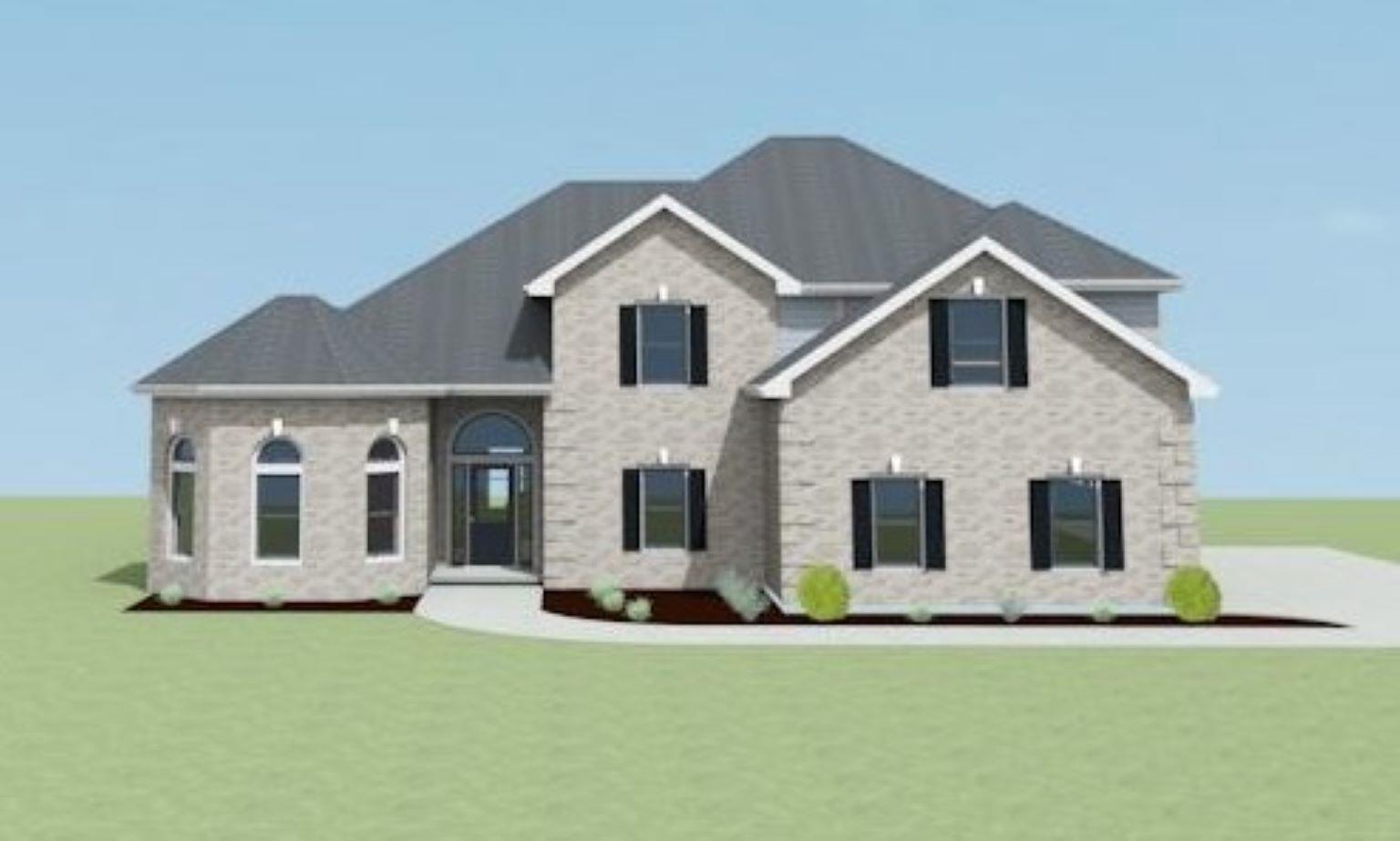 Exterior featured in the Timberland A-1 By Legacy Premier Homes  in Huntsville, AL