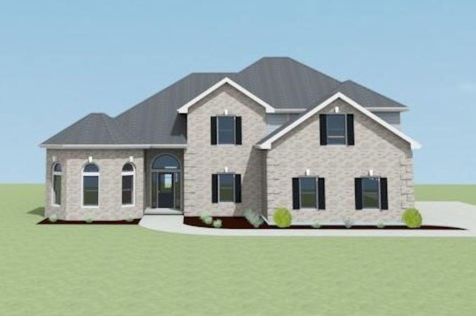 Exterior featured in the Timberridge A[1] By Legacy Premier Homes  in Huntsville, AL