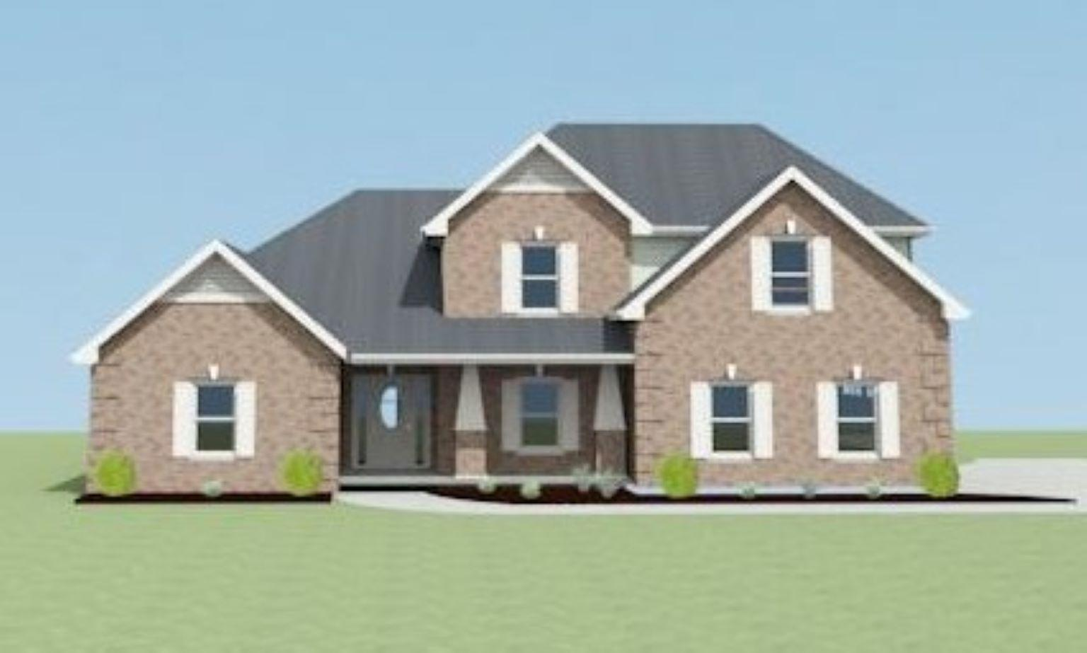 Exterior featured in the Thomashill C[1] By Legacy Premier Homes  in Huntsville, AL