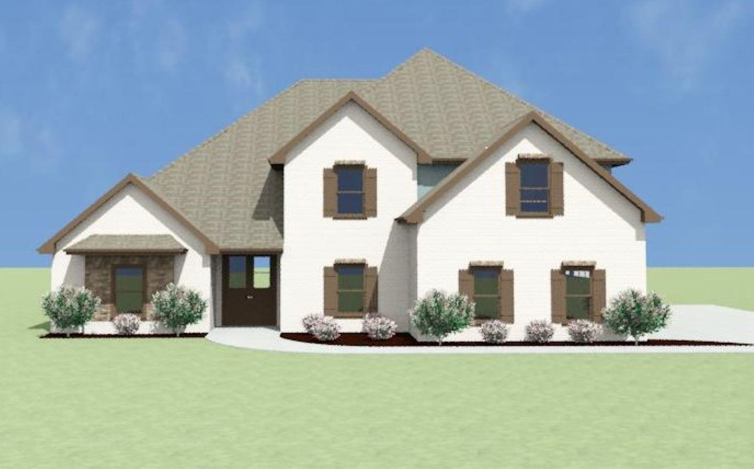 Exterior featured in the Hearthstone II A[1] By Legacy Premier Homes  in Huntsville, AL