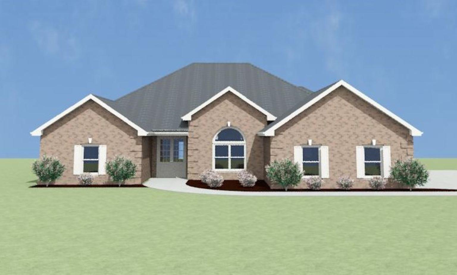 Exterior featured in the Trenton A[1] By Legacy Premier Homes  in Huntsville, AL