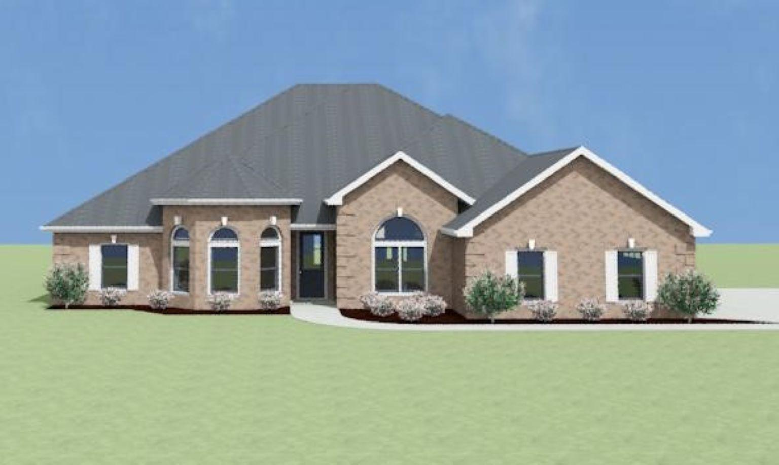 Exterior featured in the Alexandria A[1] By Legacy Premier Homes  in Huntsville, AL