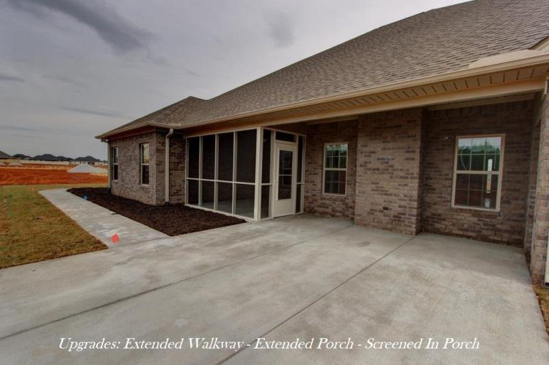 Exterior featured in the Cambridge C[1] By Legacy Premier Homes  in Huntsville, AL