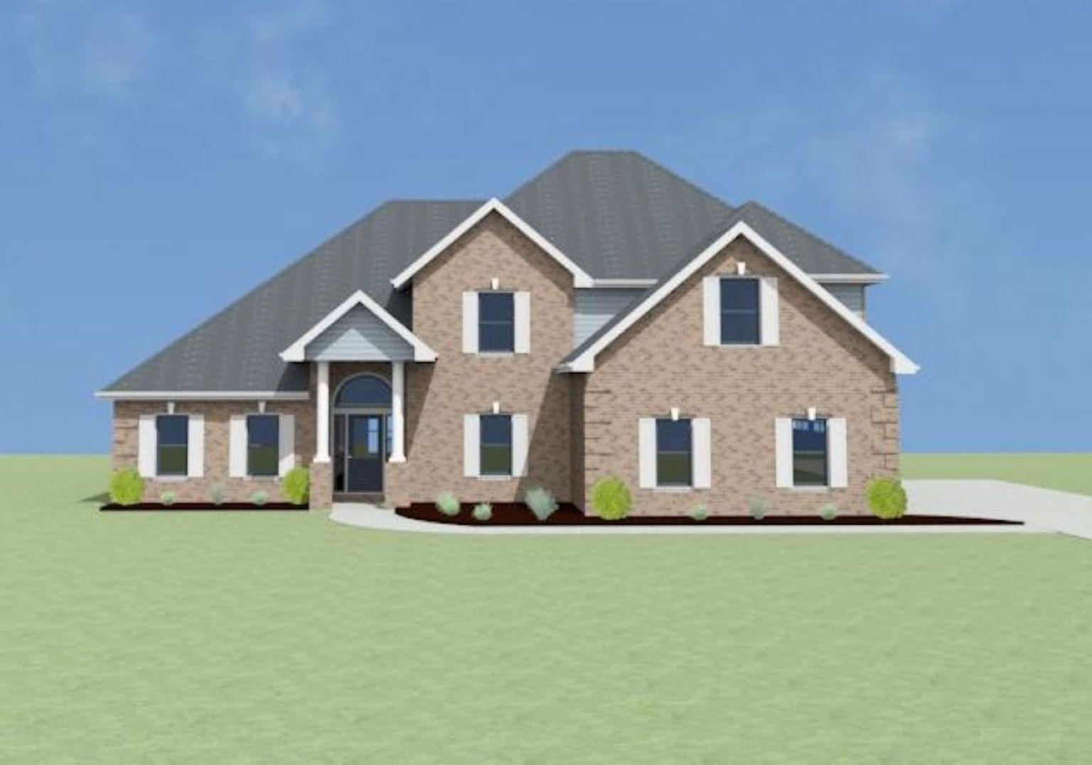 Exterior featured in the Foresthill C[1] By Legacy Premier Homes  in Huntsville, AL