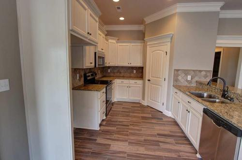 Kitchen-in-SilverBirch B1-at-The Arbors-in-Madison