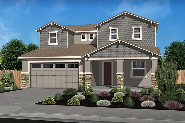 Exterior featured in the Residence 2 By Legacy Homes in Santa Cruz, CA