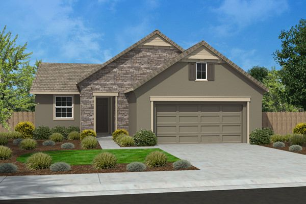 Exterior featured in the Residence 1501 By Legacy Homes in Merced, CA