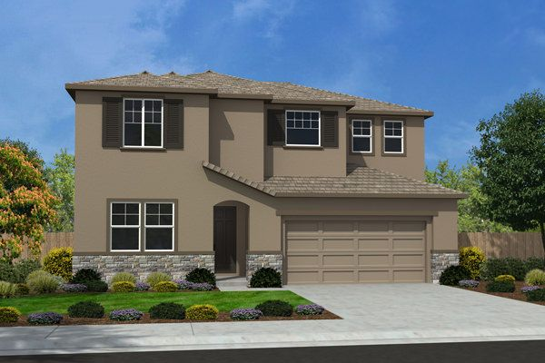 Exterior featured in the Residence 2198 By Legacy Homes in Merced, CA