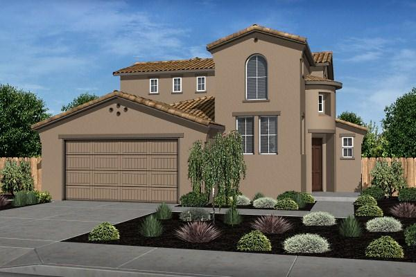 Exterior featured in the Residence 3 By Legacy Homes in Santa Cruz, CA