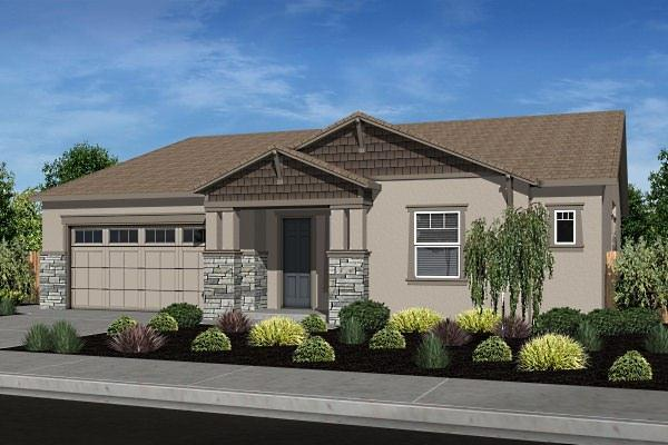 Exterior featured in the Residence 5 By Legacy Homes in Santa Cruz, CA