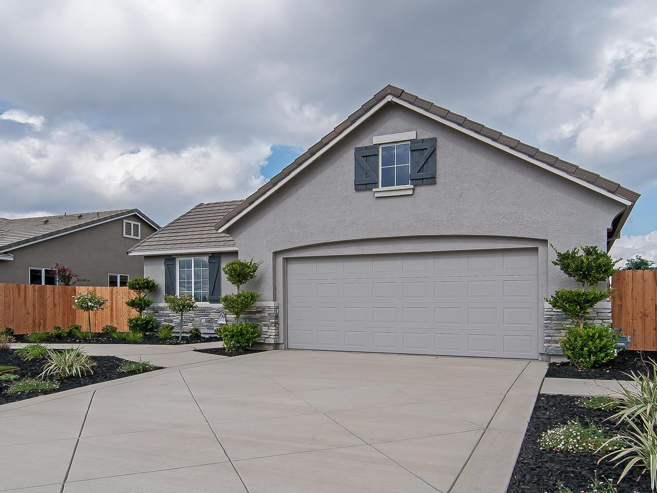 Exterior featured in the Residence 1789 By Legacy Homes in Merced, CA