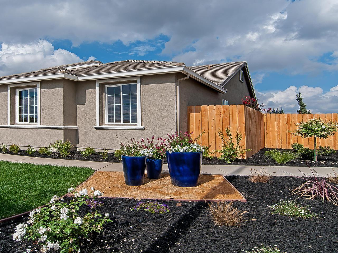 Exterior featured in the Residence 2041 By Legacy Homes in Merced, CA