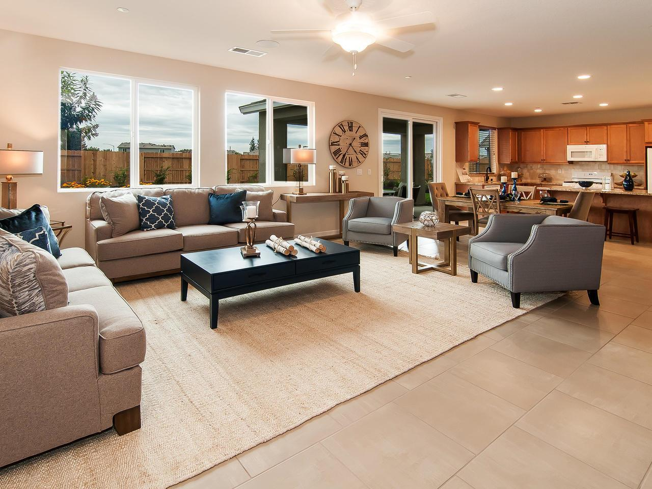 Living Area featured in the Residence 2041 By Legacy Homes in Merced, CA