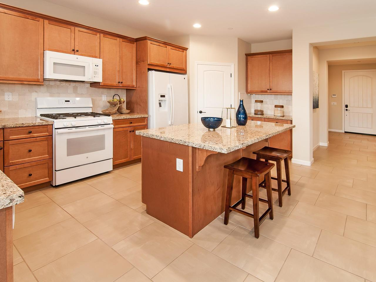 Kitchen featured in the Residence 2041 By Legacy Homes in Merced, CA