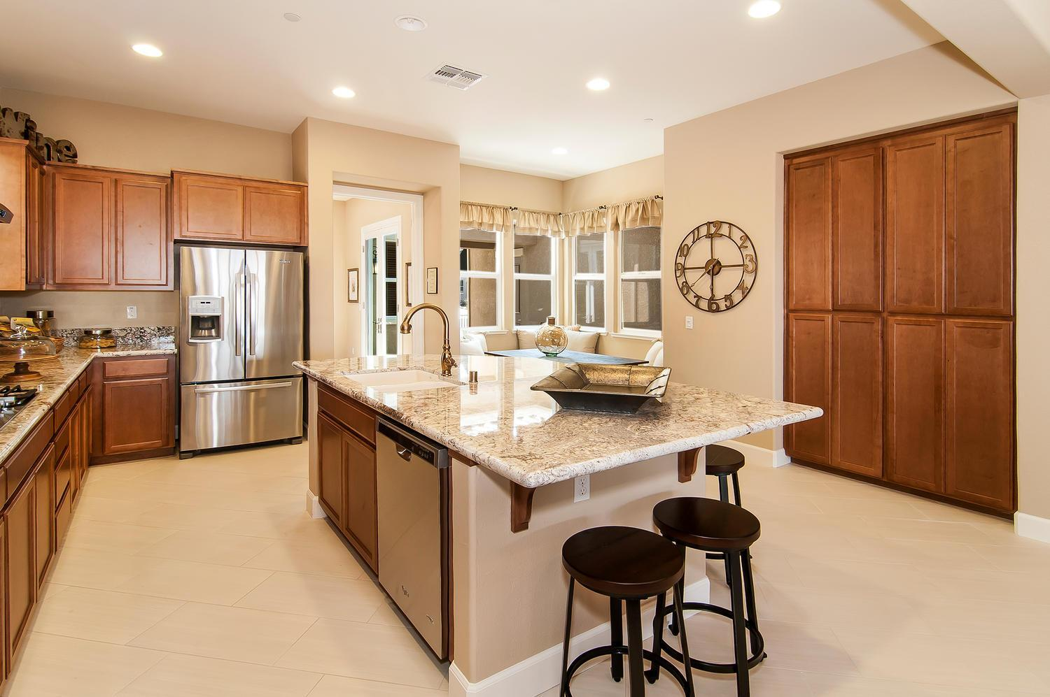 Kitchen featured in the Residence 6 By Legacy Homes in Santa Cruz, CA