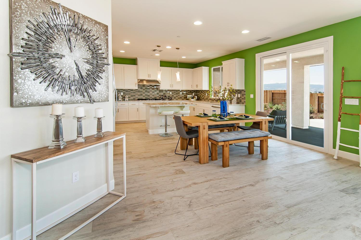 Kitchen featured in the Residence 4 By Legacy Homes in Santa Cruz, CA