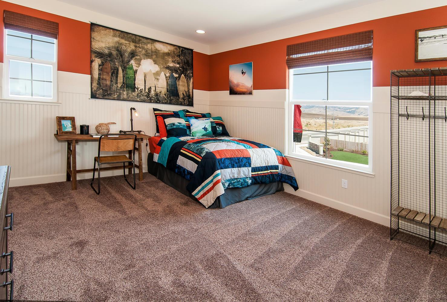 Bedroom featured in the Residence 7 By Legacy Homes in Santa Cruz, CA