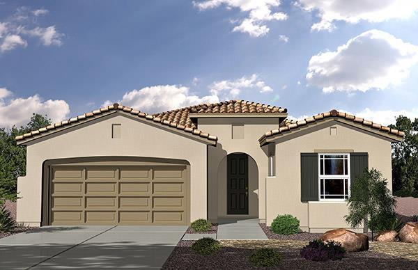 Exterior featured in the Residence 1729 By Legacy Homes in Las Vegas, NV