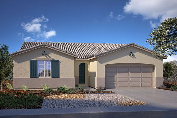 Exterior featured in the Residence 2052 By Legacy Homes in Bakersfield, CA