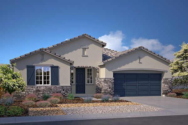 Exterior featured in the Residence 2128 By Legacy Homes in Bakersfield, CA