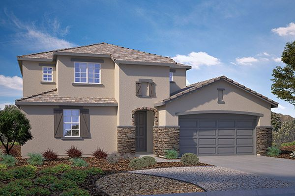 Exterior featured in the Residence 2535 By Legacy Homes in Bakersfield, CA
