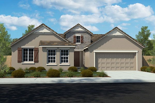 Exterior featured in the Residence 2041 By Legacy Homes in Sacramento, CA