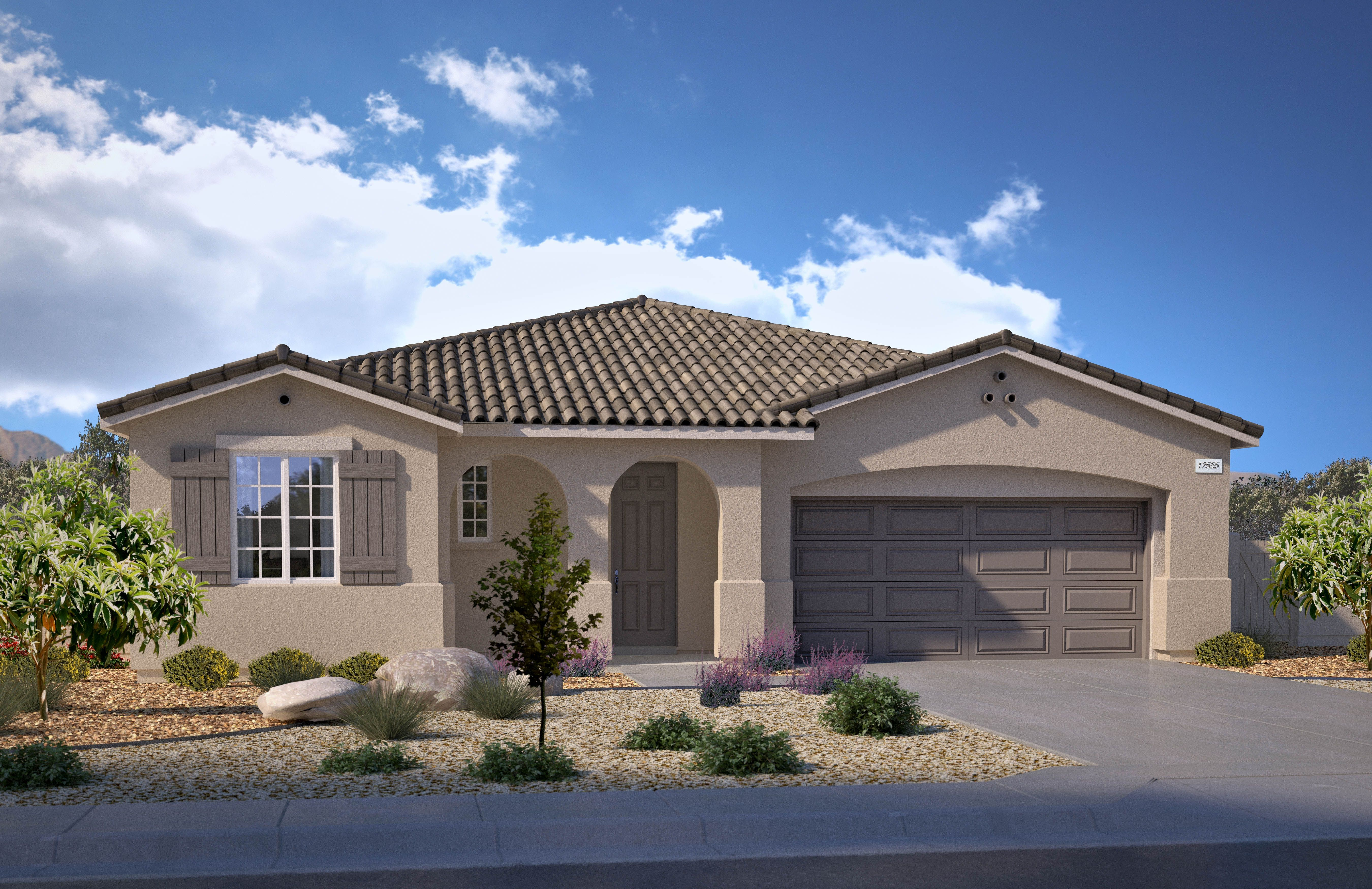 Exterior featured in the Residence 1949 By Legacy Homes in Riverside-San Bernardino, CA