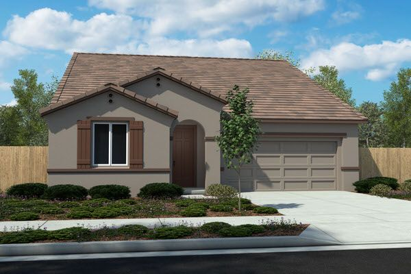 Exterior featured in the Residence 2188 By Legacy Homes in Merced, CA
