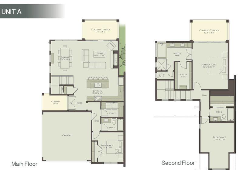 Unit A - Floor Plan