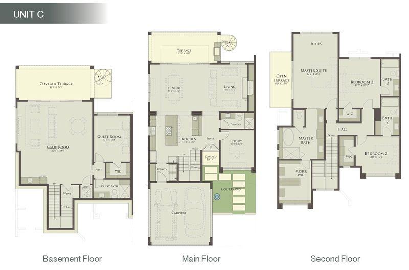 Unit C - Floor Plan