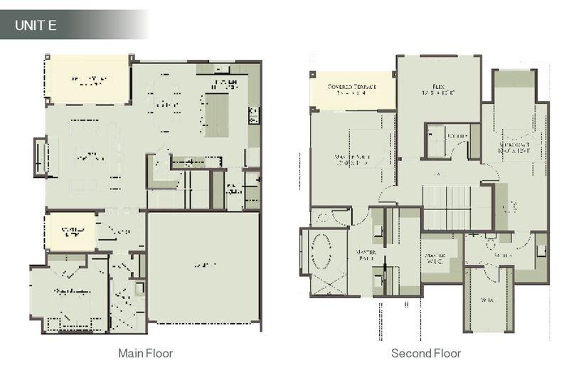 Unit E - Floor Plan