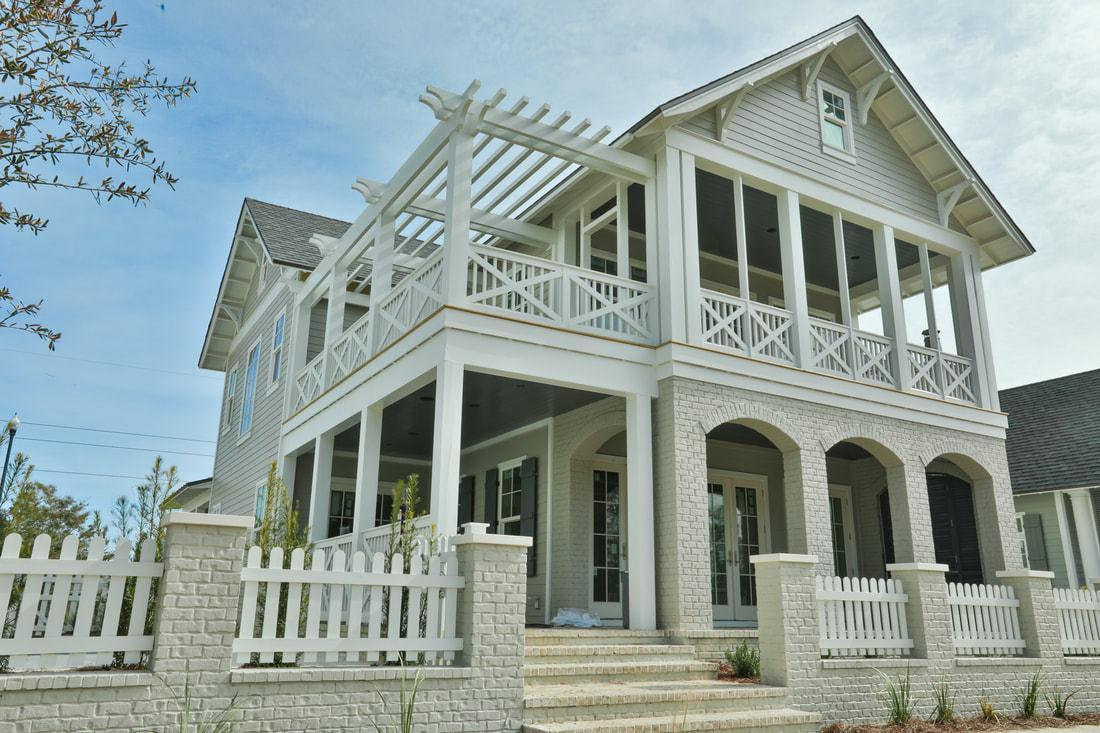 Exterior featured in The Savannah By Destin Custom Home Builders in Destin-Fort Walton Beach, FL