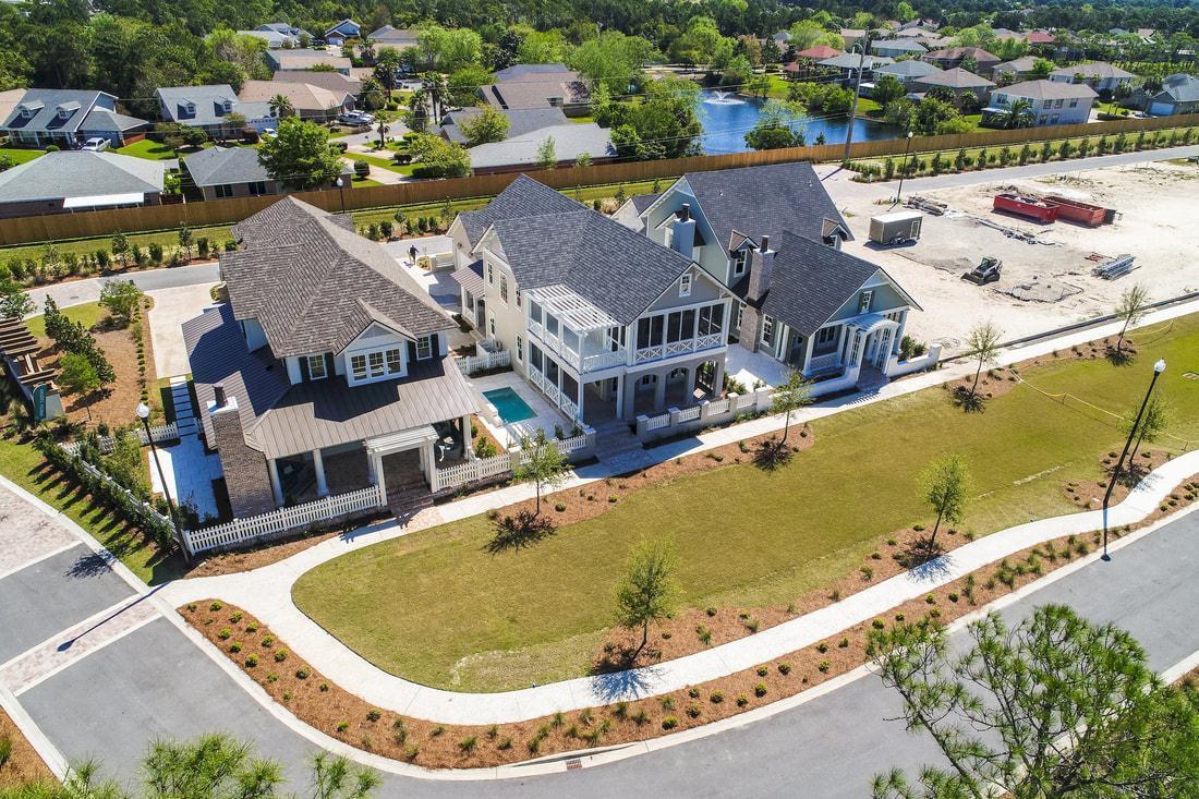 Exterior featured in The Natchez By Destin Custom Home Builders in Destin-Fort Walton Beach, FL