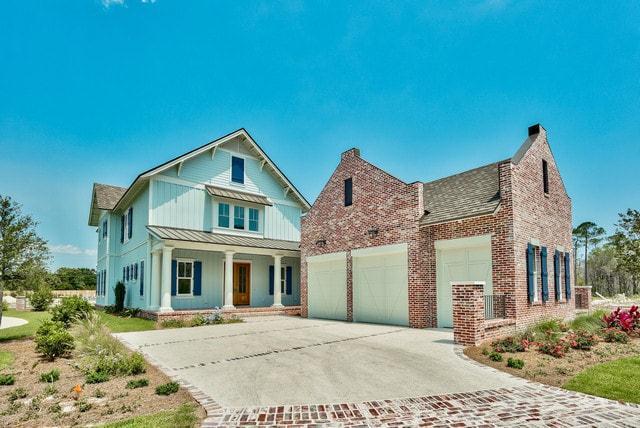 Exterior featured in The Orleans By Destin Custom Home Builders in Destin-Fort Walton Beach, FL