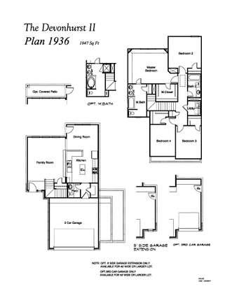 Merrylands Value Series Devonhurst Ii Plan At Merrylands In Humble Tx By Legend Homes