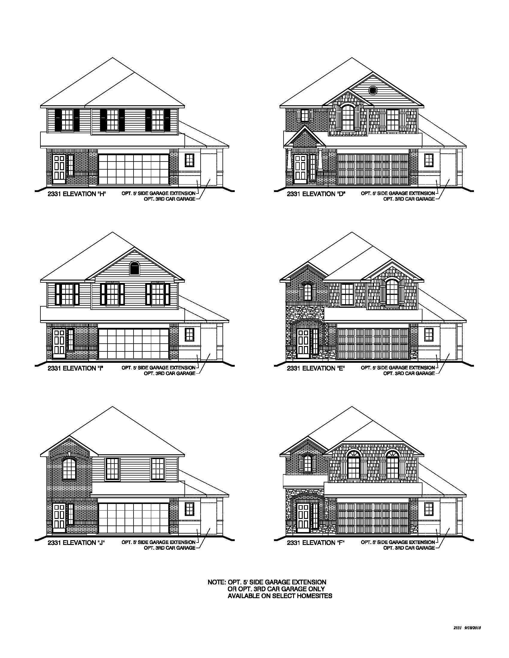 Legend Homes New Home Plans in Humble TX | NewHomeSource